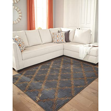 Amazon Com Signature Design By Ashley R403962 Natalius Medium Rug