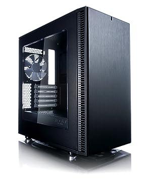 Fractal Design Define Mini C Mini-Tower Negro Carcasa de Ordenador - Caja de Ordenador (Mini-Tower, PC, ITX,Micro-ATX, Negro, Juego, 16,8 cm)