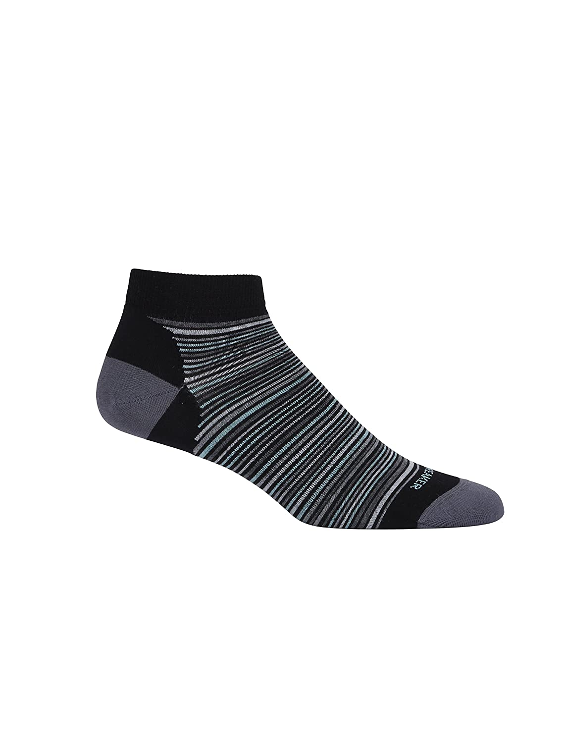 Icebreaker Women's Lifestyle Ultra Light Low Cut Multi-Mini Stripe Socks