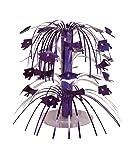 Creative Converting Cascade Graduation Centerpiece, Mini, Purple