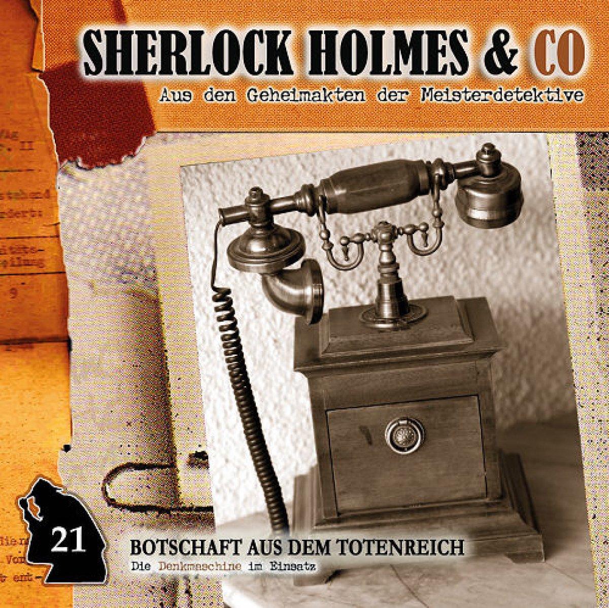 Botschaft aus dem Totenreich-Vol.21 - Sherlock Holmes & Co: Amazon ...