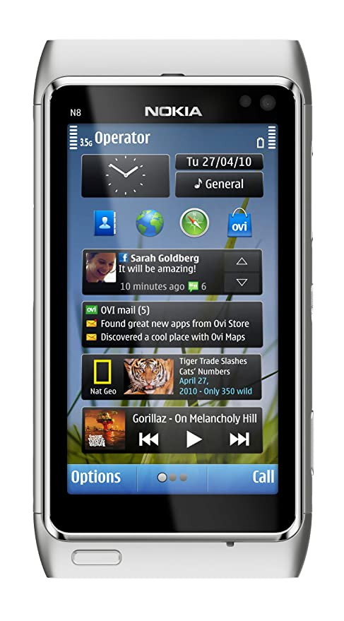 amazon com nokia n8 unlocked gsm touchscreen phone featuring gps rh amazon com Nokia N9 Nokia E7