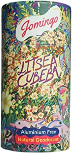 Jomingo Litsea Cubeba Aluminium Free Natural Deodorant Stick For Women and Men, 40g