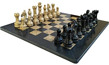 home office decor games. 16 Inches Black And Coral Chess Board Game Set - Ideal Home Decor Prime Marble Office Games G