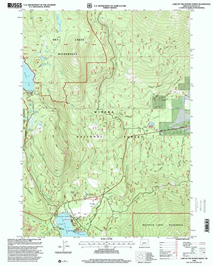 Amazon Com Yellowmaps Lake Of The Woods North Or Topo Map 1 24000