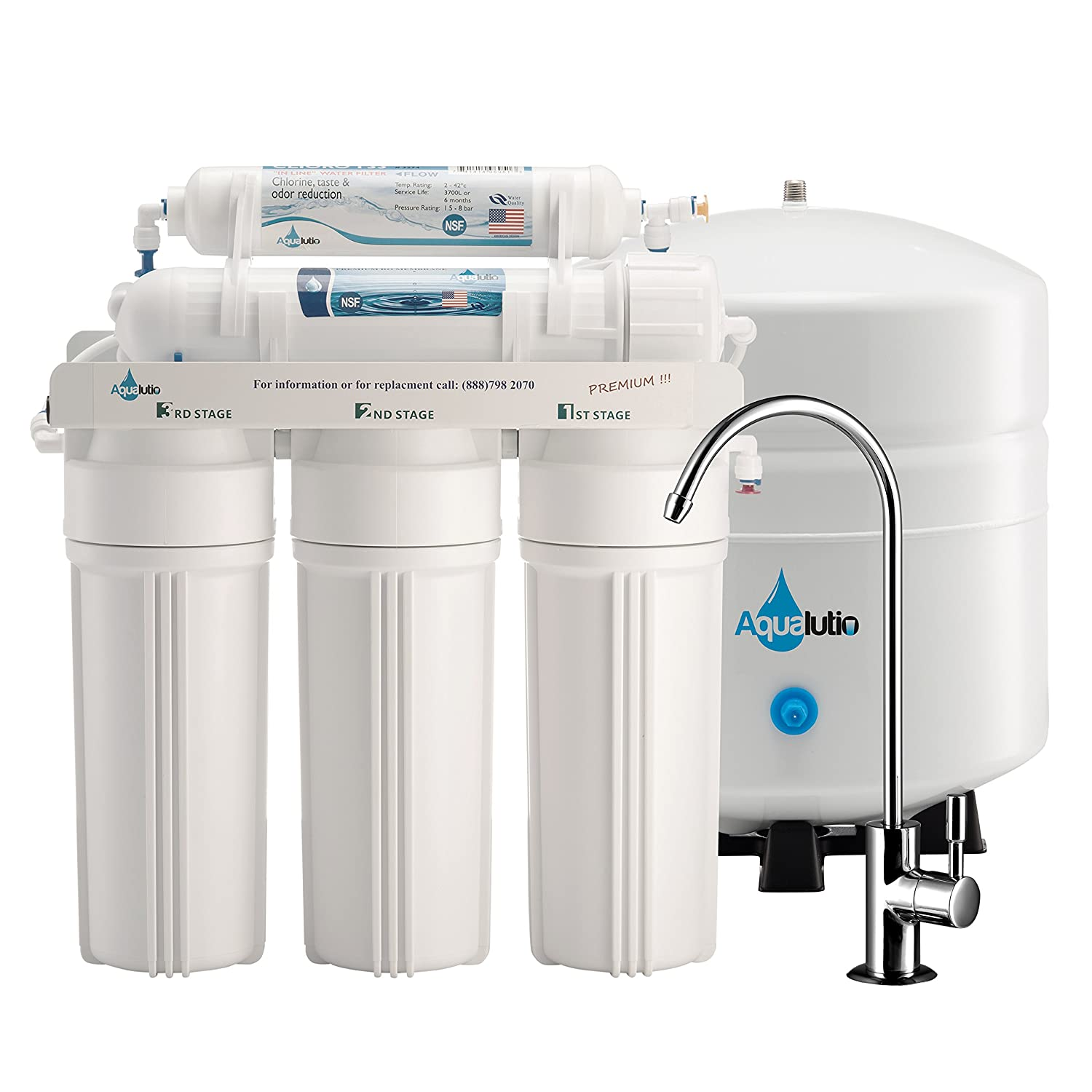 Amazon AquaLutio Premium 5 Stage Reverse Osmosis Filtration