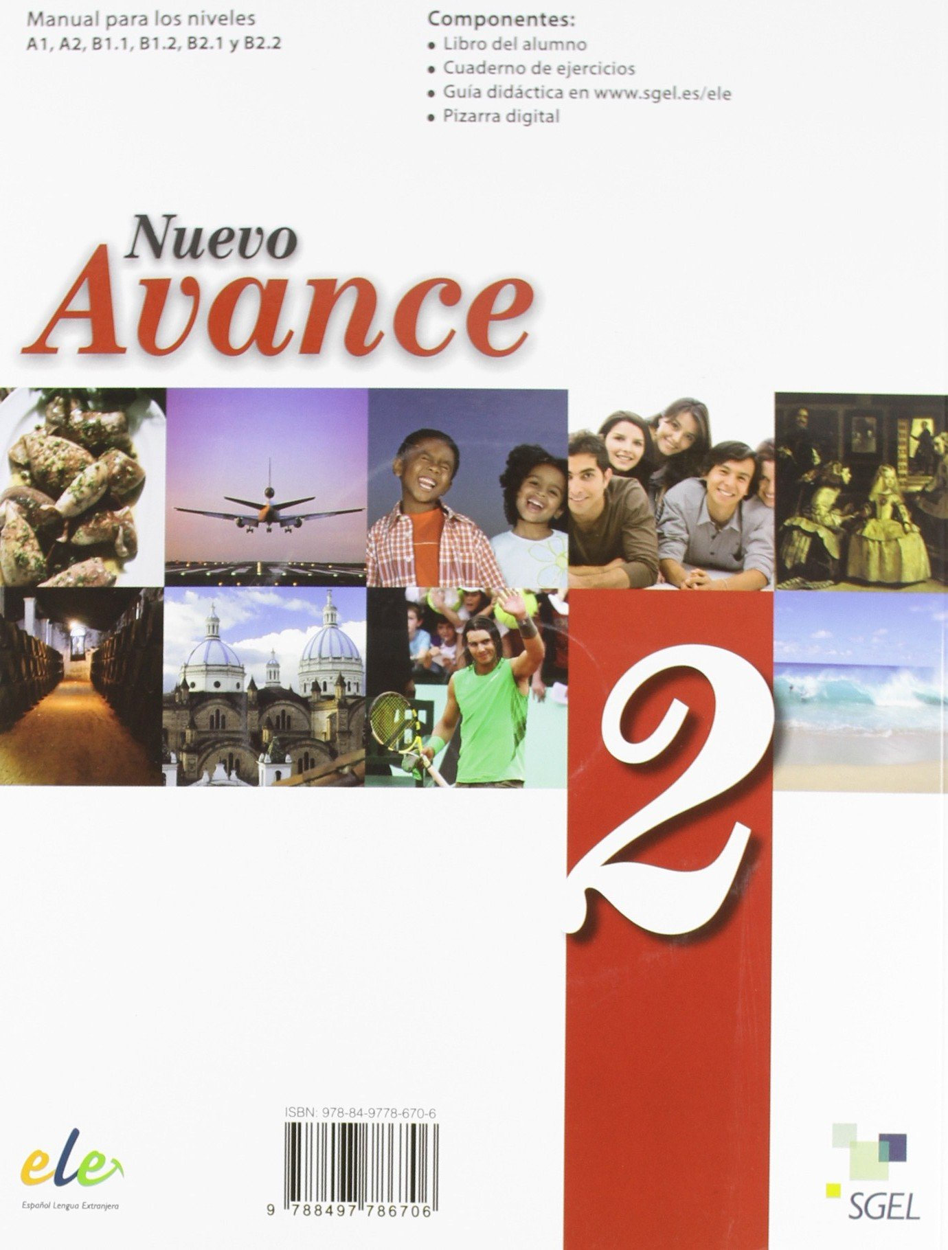 Nuevo Avance 2 Exercises Book + CD A2 (Spanish Edition ...
