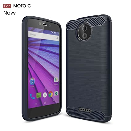 pinlu® Funda para Motorola Moto C Suave TPU Gel Silicona Case ...