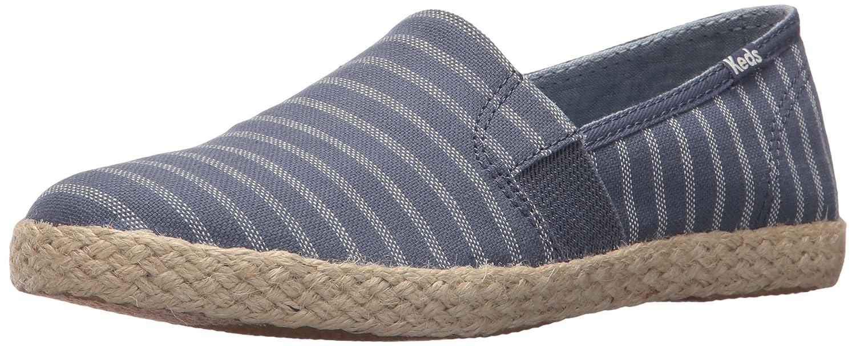 Keds Women's Chillax a-Line Stripe/Jute Sneaker B072W5FL1L 7.5 B(M) US|Indigo