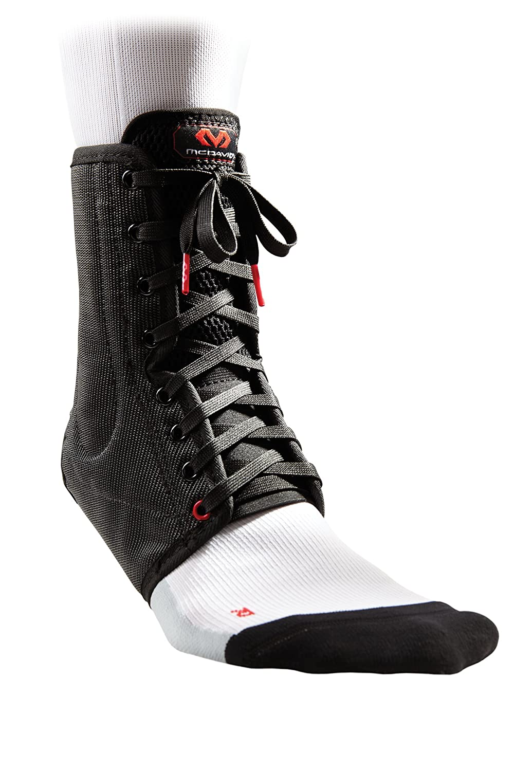 McDavid 199 Lace-up Ankle Brace with Support Stays
