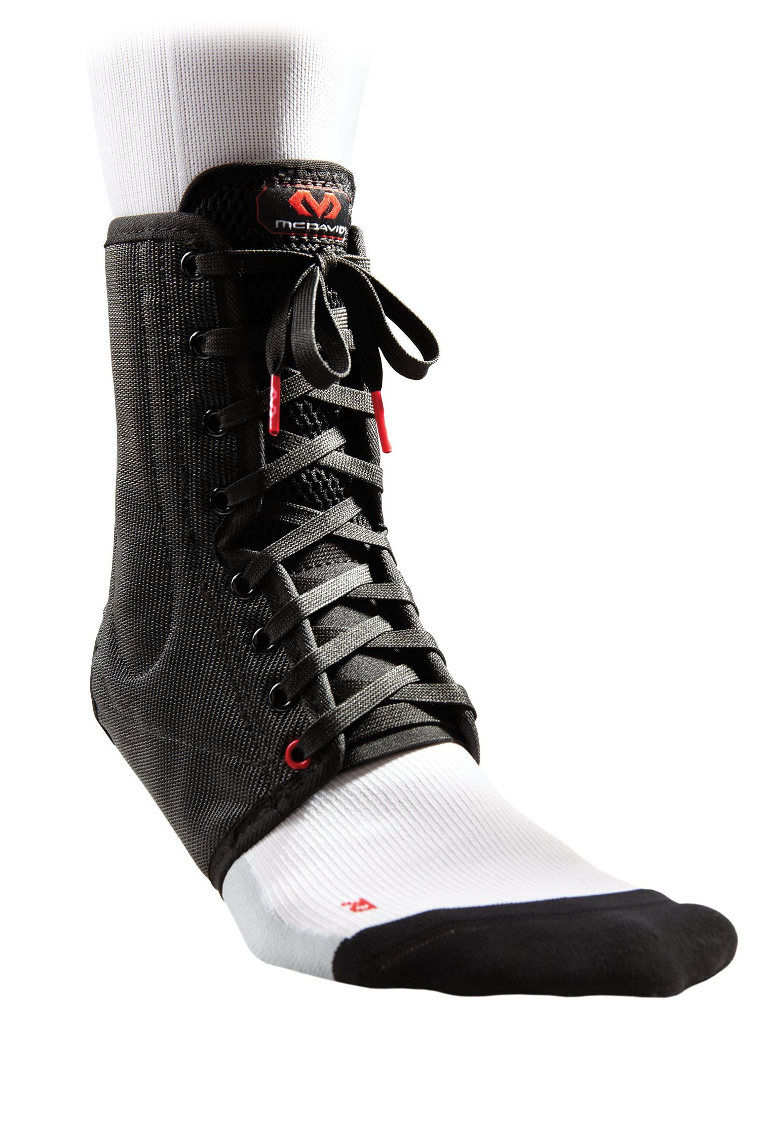 McDavid Lightweight Ankle Brace (Black, X-Small) by McDavid (Image #1)