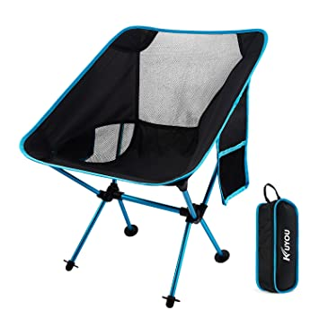 Outdoor Fold Up Chairs,Compact Folding Chairs Ultralight Portable Chair  With Carry Bag For Hiker