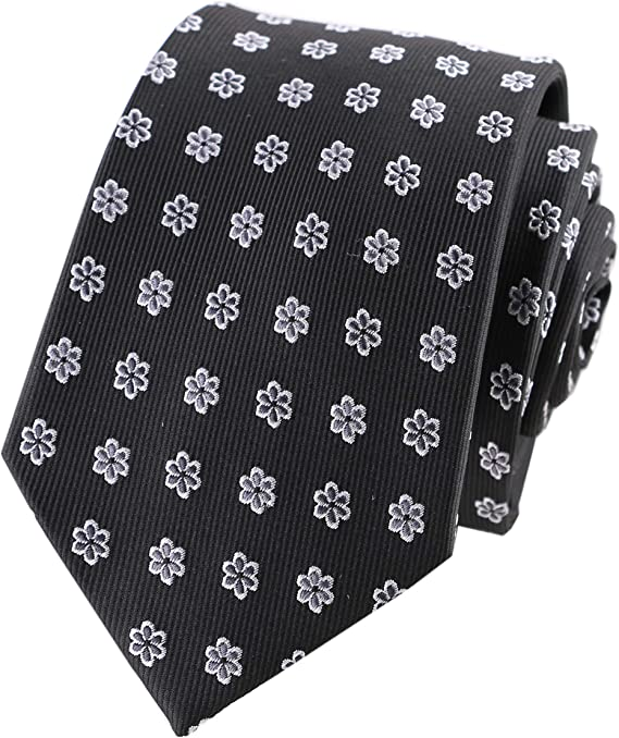 Fashion Men/'s Dot Style Necktie Jacquard Woven Tie Wedding banquet Working Tie
