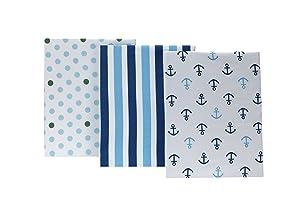 Little Bedding by NoJo Splish Splash 3 Piece Crib Sheets