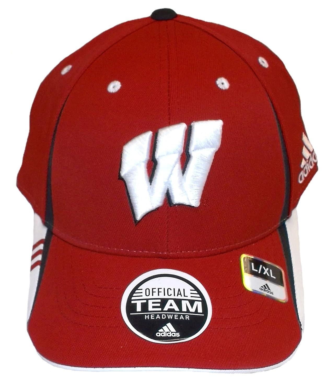 NCAA Wisconsin Badgers「BigロゴL/XL帽子キャップ   B010YXW64A