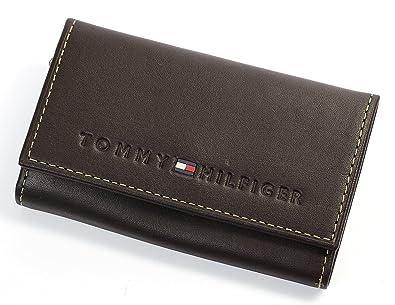 7bfb067c85df Amazon | [トミーヒルフィガー]TOMMY HILFIGER 6連 キーケース レザー ...