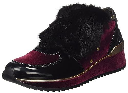 COOLWAY Rock, Zapatillas para Mujer, Negro (Blk), 38 EU