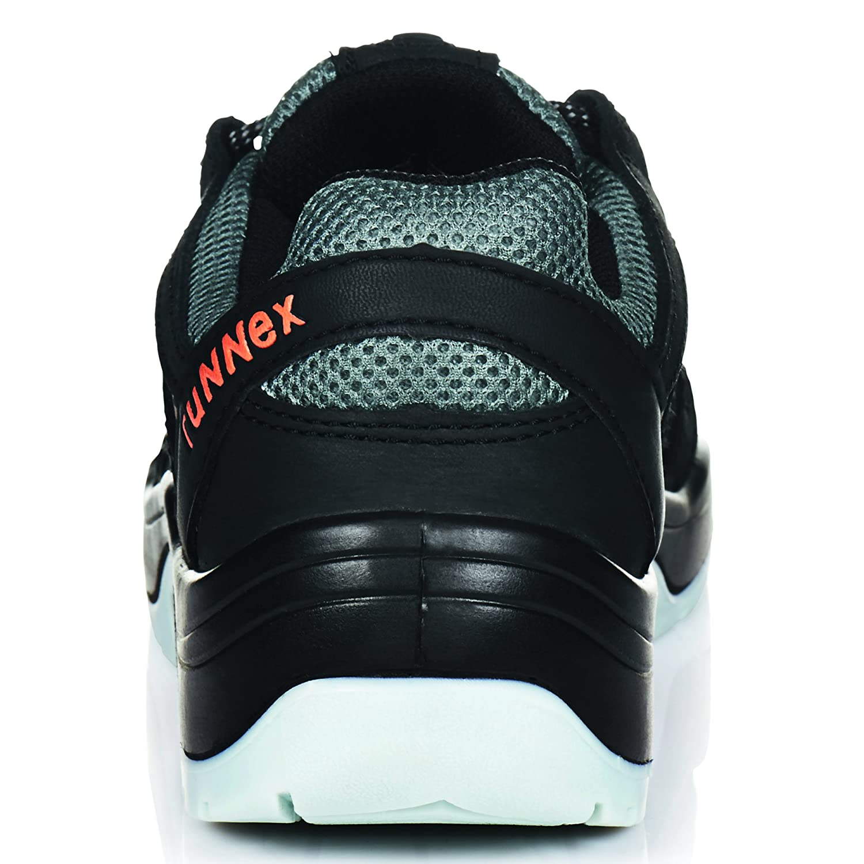 RuNNex® S1-Sicherheitshalbschuh TeamStar, schwarz Gr. grau, Gr. schwarz 40 4ac07d