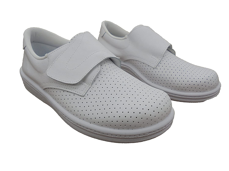 Percla Mod.293 Calzado Made in Spain Garantia de Calidad. Zuecos Sanitarios Anatomicos en Piel para Hombre