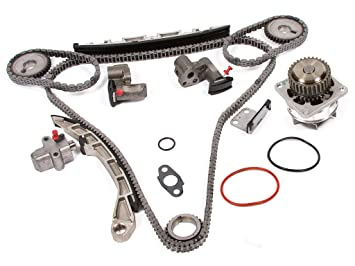 Evergreen TK3035WPT Timing Chain Kit, And Water Pump Fits: Nissan Altima  Maxima 350Z Murano