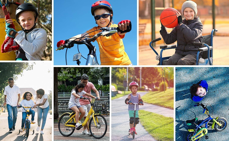 meteor Kinder Fahrradhandschuhe Bike Gel BMX Handschuh Jungen Fahrrad Handschuhe M/ädchen radhandschuhe Scooter radhandschuhe Kinder Tretroller Handschuhe Fahr-Rad
