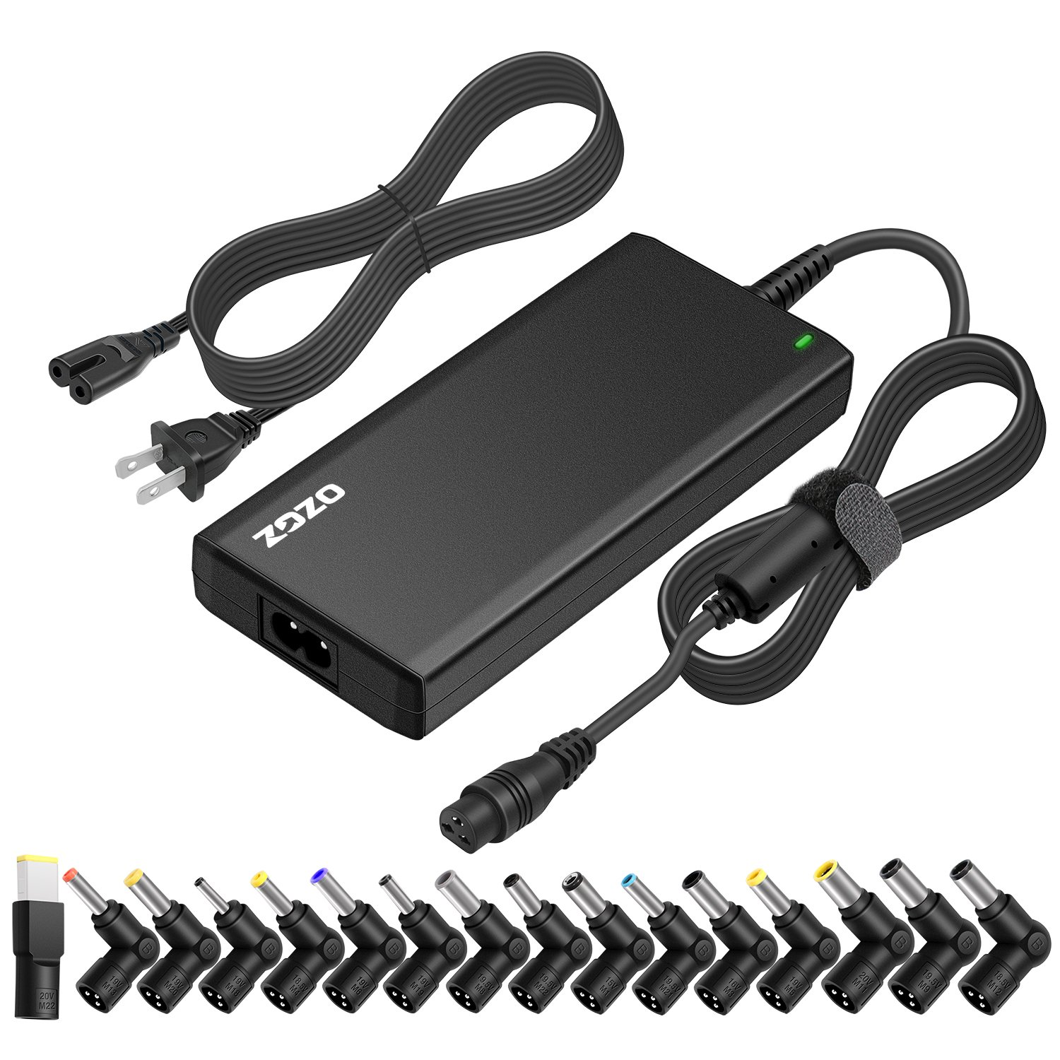 ZOZO 70W 15-20V Slim Universal Laptop Power Adapter Charger for Acer Asus Toshiba Dell Lenovo IBM HP Compaq Samsung Sony Gateway Fujitsu Ultrabooks ...