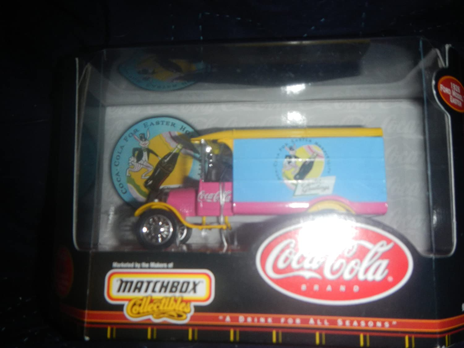 Matchbox Collectibles Coca Cola Collection 1926 ford Model TT Easter by Mattel