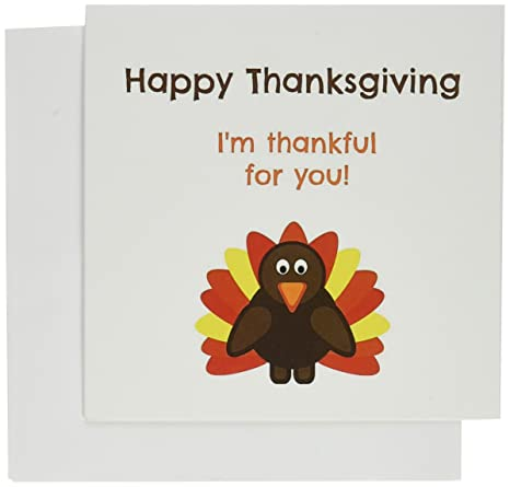 amazon com happy thanksgiving im thankful for you greeting cards