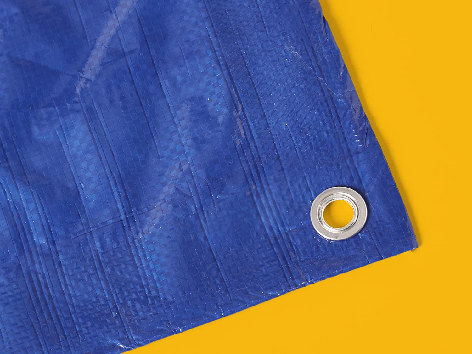 2-Pack Commercial Multi Purpose Waterproof Poly Tarp Cover Blue 5MIL Thick 14 X 30 FT