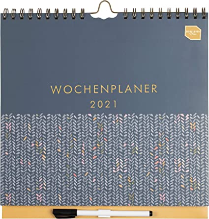 in tedesco) Boxclever Press 'Wochenplaner Kalender'. Calendario
