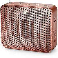JBL GO 2 Bluetooth-luidspreker, draagbaar, waterdicht, IPX7, met microfoon, tot 5 uur looptijd, roze kaneel