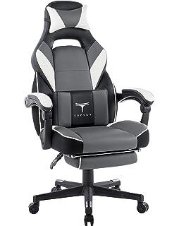 amazon com topsky high back racing style pu leather computer gaming