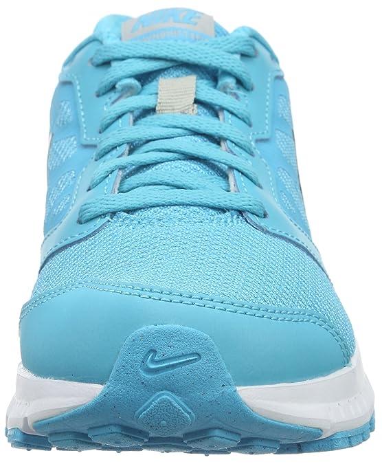 Nike Damen Downshifter 6 Laufschuhe, Blau (Gamma Blue/Blck-MTLLC SLVR-WHT), 36