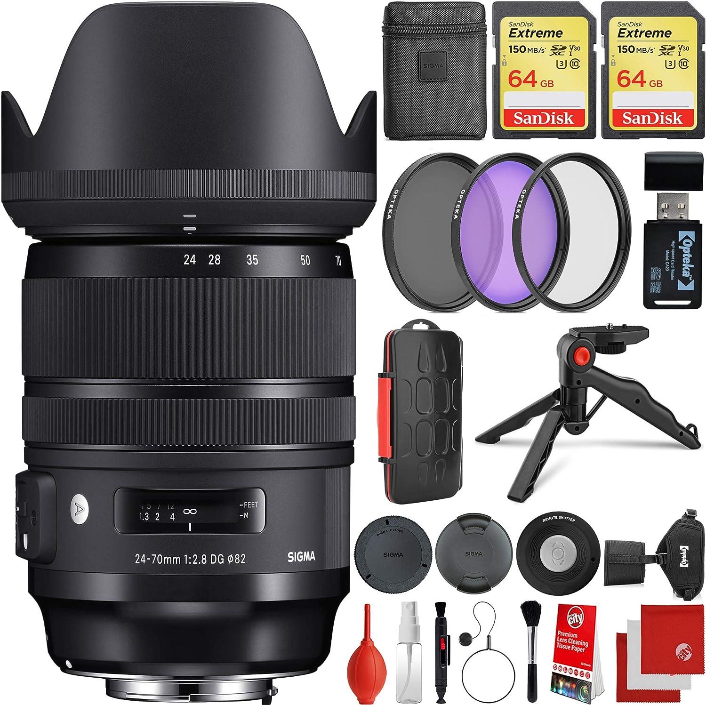 Sigma Sony E Mount Bundle 24 70 Mm F Kamera