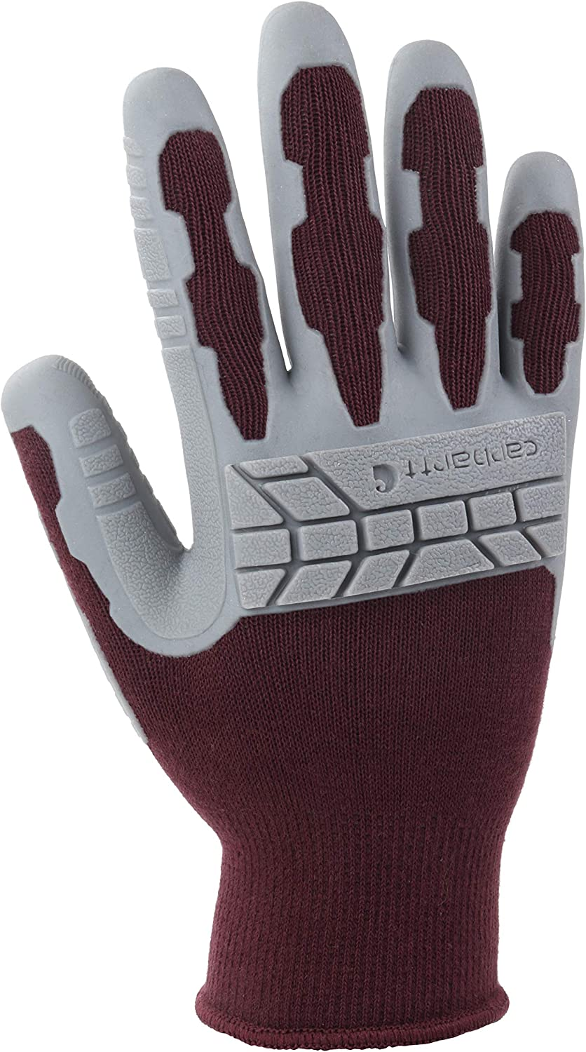 Carhartt womens Knuckler Work Glove With Grip and Knuckle Protection