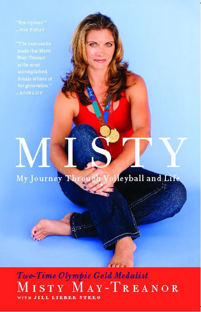 misty my journey through volleyball and life misty may treanor jill lieber steeg 9781439148556 amazoncom books