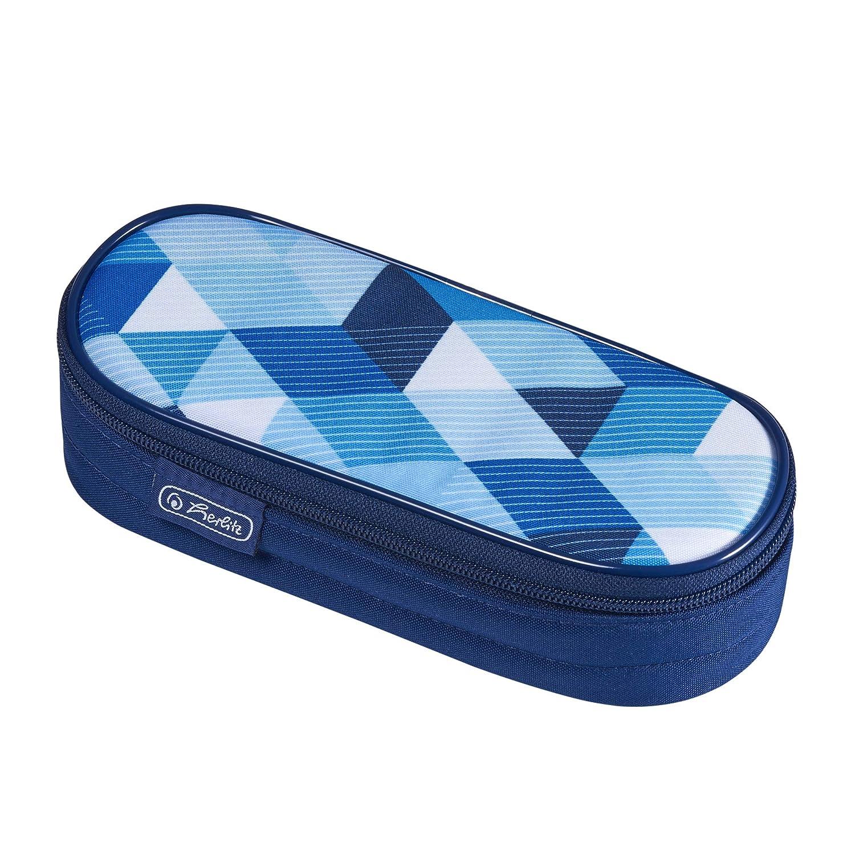 blau Herlitz 11415916 Faulenzer Etui