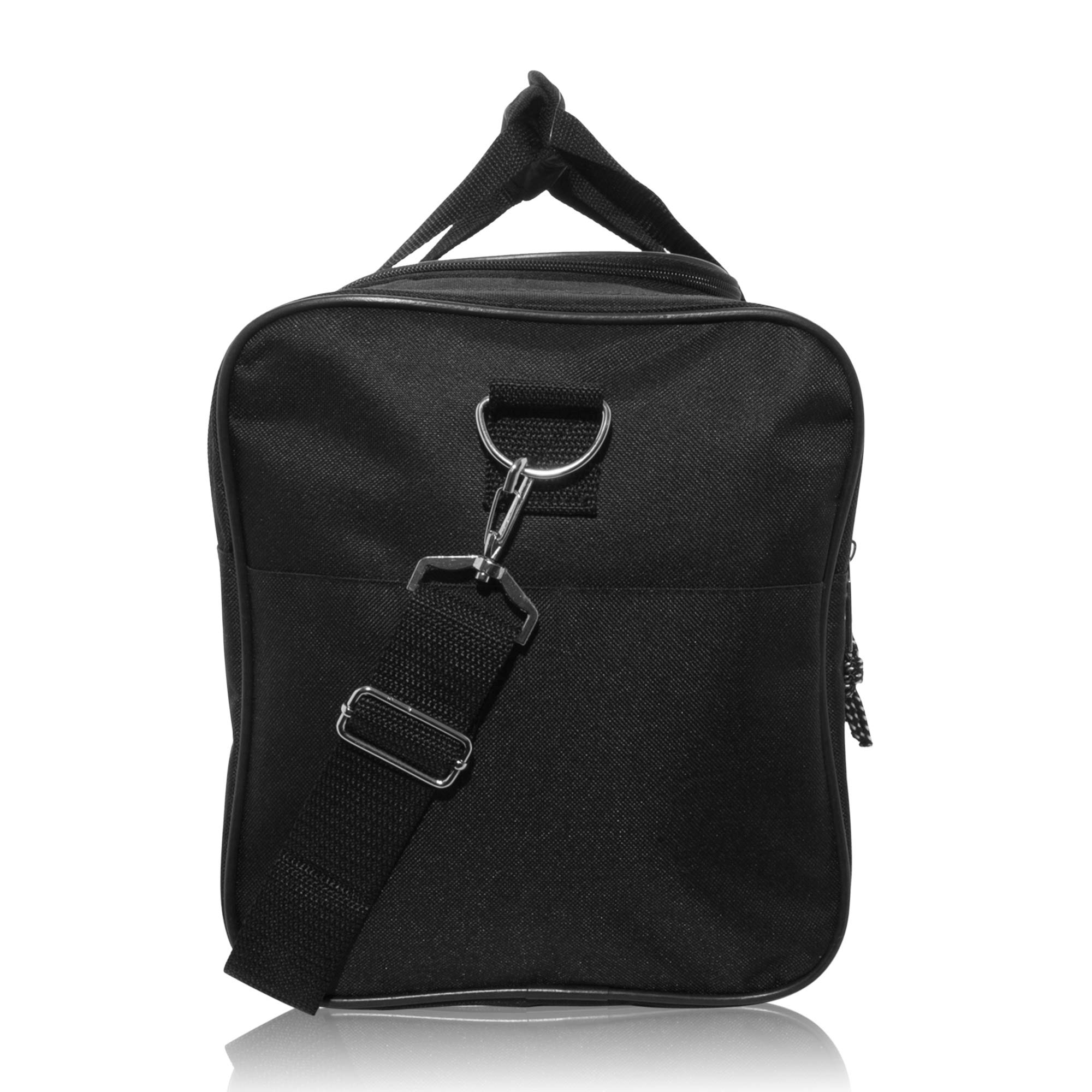 DALIX Blank Duffle Bag Duffel Bag in Black Gym Bag - DF-005-Black   Sports  Duffels   Clothing, Shoes   Jewelry - tibs 5a24a02d17