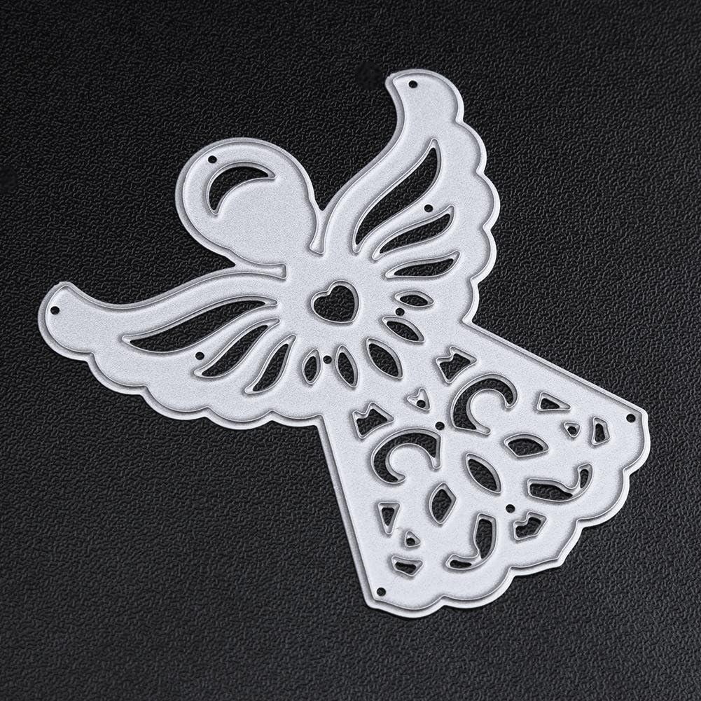 Demiawaking Angelo Fustella Cutting Die per DIY Scrapbooking Album Foto Segnalibro Cornice Metallo per Goffratura Embossing Stencil per Biglietti e Buste