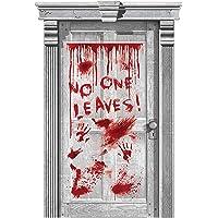 Amscan 241210-55 - deurdecoratie No one Leaves, afmeting 165,1 x 85 cm, plastic, kamerdecoratie, hangdecoratie…
