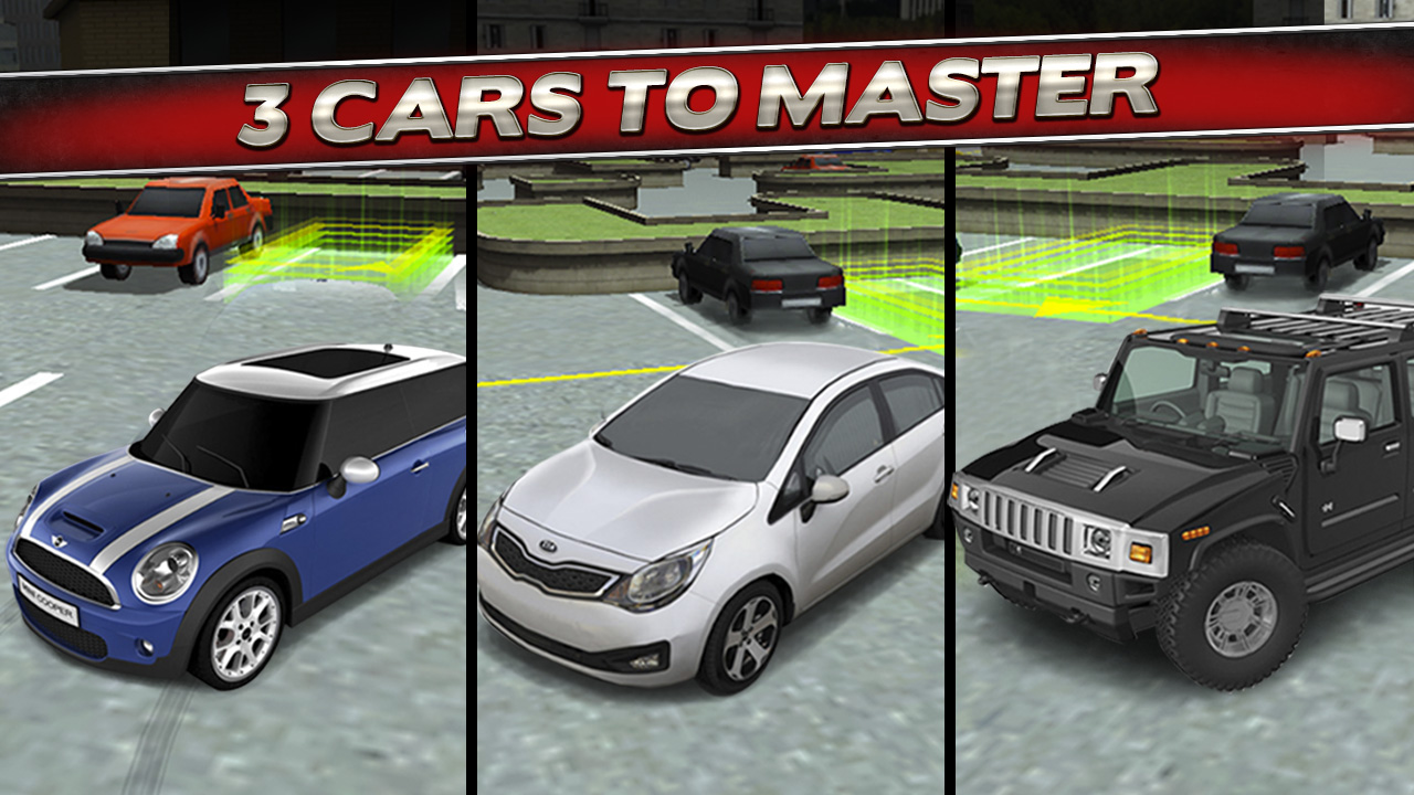 Amazon Com 3d Car Parking Simulator Game Real Limo And Monster Truck Driving Test Park Racing Games Free
