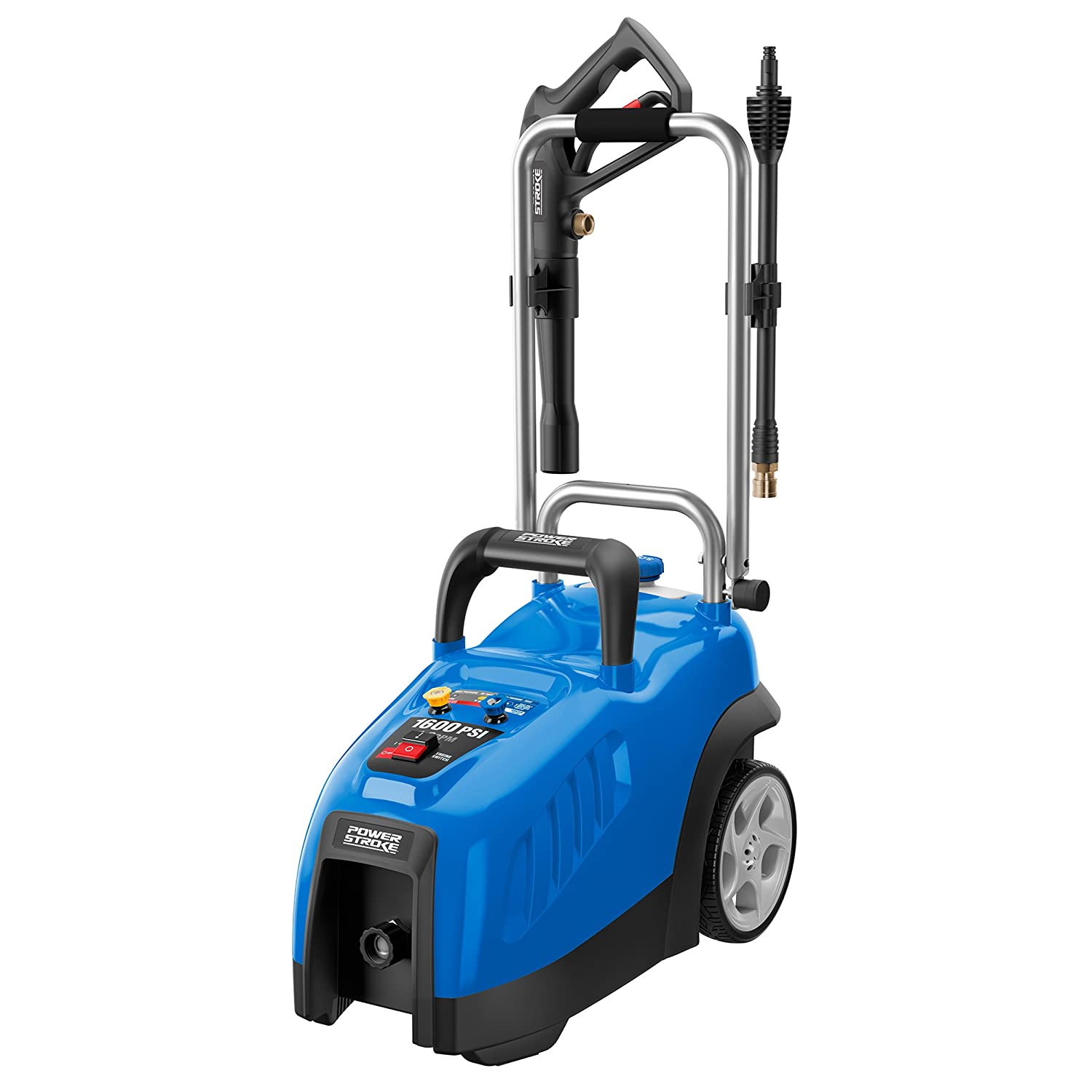 The New Powerstroke Electric Pressure Washer