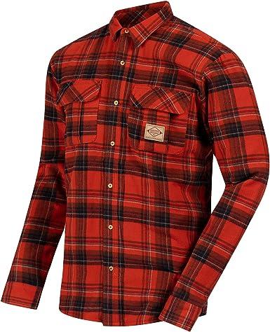 Regatta - Camisa de Manga Larga Modelo Tyrus para Hombre (2XL) (Rojo): Amazon.es: Ropa y accesorios