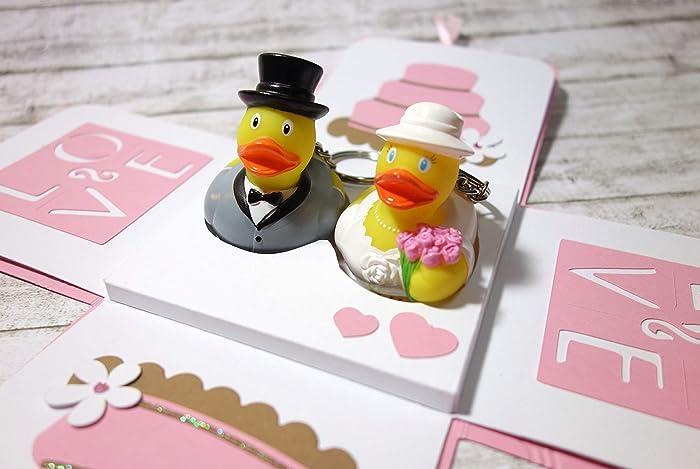 Geldgeschenk Zur Hochzeit Verpackung Hochzeitsgeschenk Explosionsbox