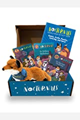 The Nocturnals Grow & Read Activity Box: Early Readers, Plush Toy, and Activity Book - Level 1–3 (The Nocturnals Activity Box Series (2)) Paperback