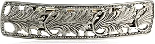 """product image for 1928 Jewelry """"Essentials"""" Silver-Tone Bar Hair Barrette"""