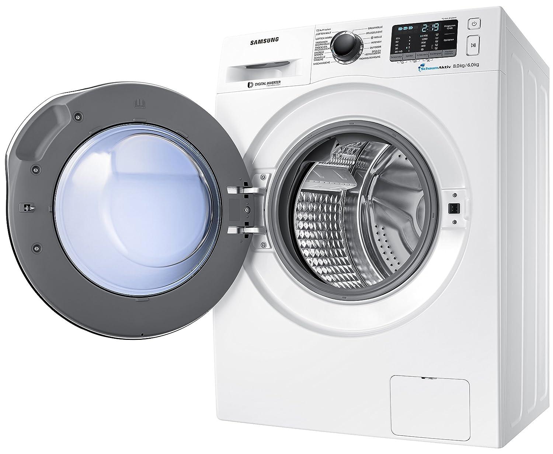 Samsung wd72j5400aw eg waschtrockner a 952 kwh jahr 1400 upm 7 kg