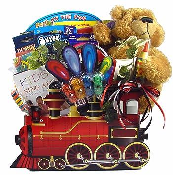 Amazon gift basket village all aboard train basket for kids gift basket village all aboard train basket for kids 8 pound negle Gallery