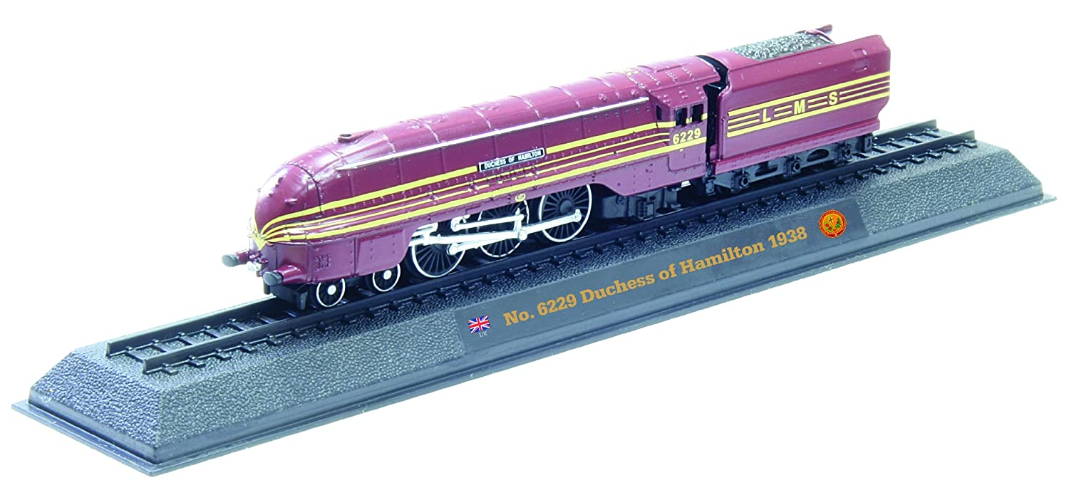 Hamilton No.6229 Duchess - 1938 die-cast 1/160 scale model locomotive No.6229 Duchess of Hamilton - 1938 diecast 1: 160 scale locomotive model (Amercom LN-15)