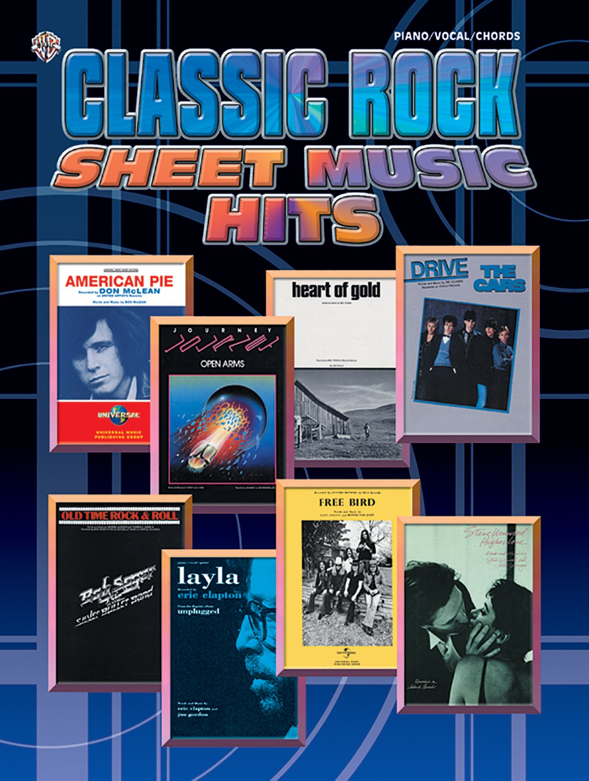 Classic Rock Sheet Music Hits: Piano/Vocal/Chords (Tapa Blanda)